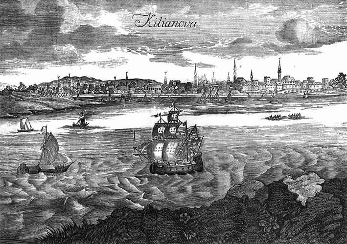 Portul Chilia (sec. XV) - foto preluat de pe ro.wikipedia.org