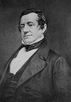 Washington Irving (n. 3 aprilie 1783, New York City - d. 28 noiembrie 1859 Sunnyside, New York), scriitor american de la începutul secolului al 19-lea. A scris o proză umoristică, de mare succes în epocă, cu ușoare accente de satiră politică, într-un stil romanțat și grațios - foto: ro.wikipedia.org