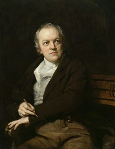 William Blake (n. 28 noiembrie 1757 – d. 2 august 1827), poet, vizionar, pictor și gravor englez - foto (William Blake într-un portret din 1807 de Thomas Phillips): ro.wikipedia.org