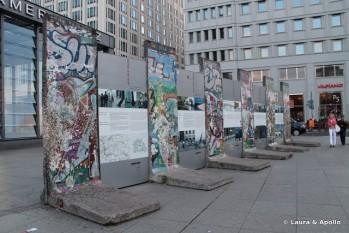 Ramasite din Zidul Berlinului la Potsdammer Platz - foto: dreamtrips.ro