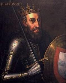 Afonso I al Portugaliei, (n. Viseu, 1109, în mod tradițional 25 iulie – d. Coimbra, 1185, 6 decembrie), cunoscut și drept Cuceritorul, a fost primul rege al Portugaliei, declarându-și independența față de Regatul Leonului.  foto:  ro.wikipedia.org