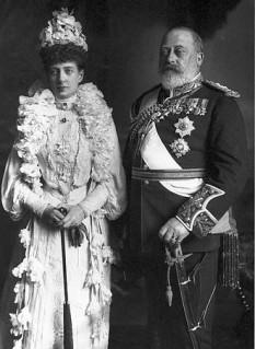 Regina Alexandra și regele Eduard al VII-lea, 1903 - foto:  ro.wikipedia.org