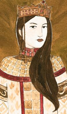 Ana Comnena (Greacă: Άννα Κομνηνή, Anna Komnēnē; 1 decembrie, 1083 – 1153) a fost o prințesă bizantină, fiica împăratului Alexie I Comnenul și a Irinei Ducas. Este una dintre primele femei istoric cunoscute, scriind opera biografică Alexiada în care relatează evenimentele din timpul domniei tatălui ei - foto: historywitch.com