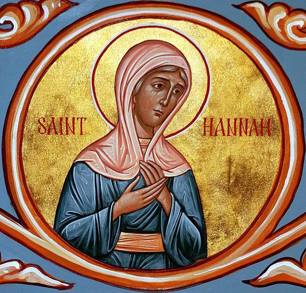 Sfânta Prorociță Ana, mama Prorocului Samuel - foto: doxologia.ro