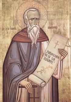 Sfântul Cuvios Daniil Sihastrul – S-a născut pe la începutul secolului al XV-lea, într-un sat din apropierea oraşului Rădăuţi, primind la botez numele Dumitru .Prăznuirea sa de către Biserica Ortodoxă se face la 18 decembrie - foto: basilica.ro