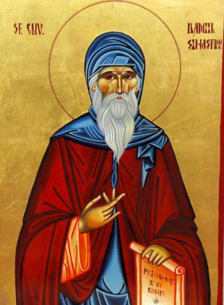 Sfântul Cuvios Daniil Sihastrul de la Voroneț a viețuit în secolul al XV-lea în partea de nord a Moldovei, nevoindu-se în viața călugărească cea mai mare parte a vieții sale. Conform tradiției, el a fost unul dintre ucenicii Cuviosului Leontie de la Rădăuți, iar mai târziu a ajuns sfătuitor al Binecredinciosului voievod Ștefan cel Mare și Sfânt al Moldovei. Biserica Ortodoxă îl prăznuiește în ziua de 18 decembrie - foto: doxologia.ro