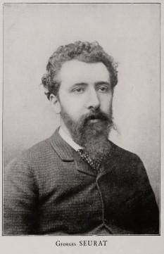 Georges Seurat (*2 decembrie 1859, Paris - †29 martie 1891, Paris), pictor francez neoimpresionist, creator și teoretician - împreună cu Paul Signac - al tehnicii divizioniste în pictură - foto:  ro.wikipedia.org