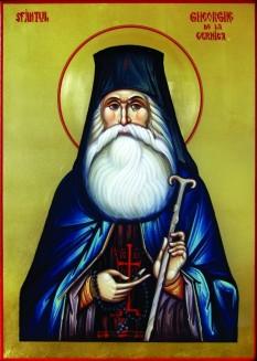 Sfântul Cuvios Gheorghe de la Cernica (1730-3 decembrie 1806) a fost un monah român originar din Transilvania, stareţ al mai multor mănăstiri din Moldova şi, mai târziu, din Ţara Românească (Cernica şi Căldăruşani). Biserica Ortodoxă îl prăznuieşte la 3 decembrie  foto: basilica.ro