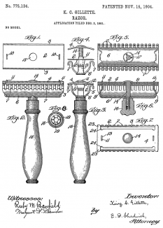 Patent drawing of the Razor - foto: en.wikipedia.org