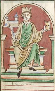 Henric I al Angliei (c. 1068/1069 - 1 decembrie 1135), cel de-al patrulea fiul lui William I Cuceritorul, primul rege al Angliei, după cucerirea normandă din 1066. El i-a succedat fratelui său mai mare William al II-lea al Angliei în 1100 și l-a învins pe fratele lui mai mare Robert Curthose pentru a deveni Duce al Normandia în 1106 - foto:  ro.wikipedia.org