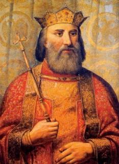 """Ștefan Lazăr Hrebeljanovici (1329 - 28 iunie 1389), cunoscut de asemenea cu numele Țarul Lazăr, a fost un cneaz sârb din Evul Mediu, domnitor al Serbiei morave, o parte din fostul puternic Țarat Sârb sub domnia lui Ștefan cel Puternic. Lazăr a luptat în Bătălia de la Kosovo Polje cu o oaste de două ori mai mică din punct de vedere numeric decât cea a Imperiului Otoman și a murit, împreună cu cea mai mare parte din boierimea sârbească și Murad care în cele din urmă a dus la căderea Serbiei ca stat suveran.[1] Evenimentele sunt considerate de o mare importanță pentru națiunea sârbă, iar cneazul este venerat ca un sfânt de Biserica Ortodoxă Sârbă și un erou în poezia epică sârbă - foto (""""Knez Lazar Hrebeljanović"""", oil painting by Vladislav Titelbah): ro.wikipedia.org"""