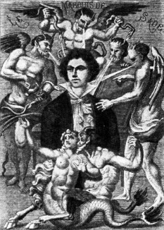 Donatien Alphonse-François, Marchiz de Sade (n. 2 iunie 1740 — d. 2 decembrie 1814), aristocrat francez care a devenit celebru prin activitatea sa sexuală libertină, perversă și excepțional de violentă precum și prin scrierile sale apologetice despre acest subiect - foto (Desen al Marchizului de Sade făcut de H. Biberstein în L'Œuvre du marquis de Sade, Guillaume Apollinaire (Edit.), Bibliothèque des Curieux, Paris, 1912):  ro.wikipedia.org