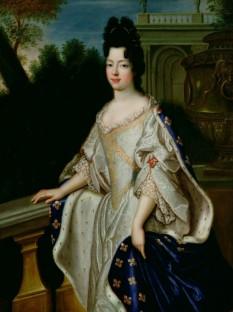 Marie-Adélaïde de Savoia (6 decembrie 1685 - 12 februarie 1712), mama regelui Ludovic al XV-lea al Franței. Fiica cea mare a lui Victor Amadeus al II-lea al Sardiniei și a primei sale soții, Anne Marie de Orléans. Ducesă de Burgundia după căsătorie, la moartea socrului său, Delfinul Ludovic, în 1711, devine Delfină a Franței - foto:  ro.wikipedia.org