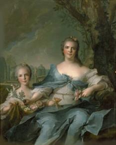 Marie Louise Élisabeth a Franței, Ducesă de Parma, Piacenza și Guastalla (14 august 1727 – 6 decembrie 1759), cel mai mare copil al regelui Ludovic al XV-lea al Franței și a soției lui, Maria Leszczyńska, și sora geamănă cea mare a Henriette-Anne. Ca fiică a regelui, ea era Fiică a Franței. S-a căsătorit cu Filip, Duce de Parma, al patrulea fiu al regelui Filip al V-lea al Spaniei devenind Ducesă de Parma - foto:  ro.wikipedia.org