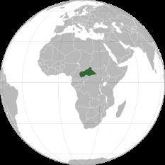 Amplasarea Republicii Centrafricane - foto:  ro.wikipedia.org