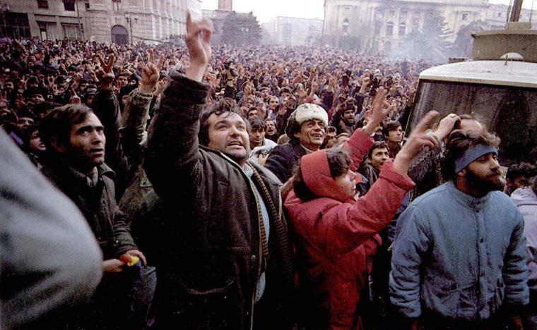 Revoluția Anticomunistă din România (București decembrie 1989) - foto: ro.wikipedia.org