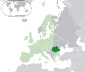 Amplasarea României - foto:  ro.wikipedia.org