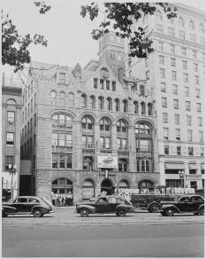 Washington Post building in 1948  foto: en.wikipedia.org