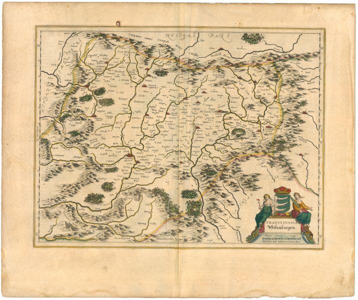 Principatul Transilvaniei a fost o formațiune statală de sine stătătoare între 1541 și 1691. Teritoriul său a fost ceva mai mare decât cel al regiunii istorice Transilvania, cuprinzând în plus Crișana, Sătmarul și Maramureșul istoric. După 1691 Principatul Transilvaniei a continuat să existe ca entitate politică separată, însă fără armată și fără politică externă proprie (vezi Marele Principat al Transilvaniei). Titlul de principe al Transilvaniei a fost preluat de împărații din Casa de Habsburg, in imagine, Transilvania în 1645 - foto: ro.wikipedia.org