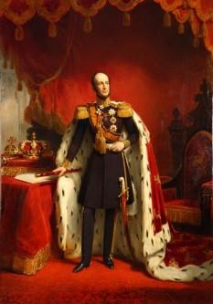 Willem al II-lea (Wilhelm Frederick George Ludovic) (6 decembrie 1792 - 17 martie 1849), rege al Țărilor de Jos și Mare Duce de Luxemburg de la 7 octombrie 1840 până la moartea sa în 1849 - foto (Regele Willem al II-lea de Nicolaas Pieneman):  ro.wikipedia.org