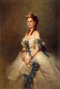 Portretul Prințesei de Wales, de Franz Xaver Winterhalter - foto:  ro.wikipedia.org