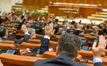 Vot pe Legea Bugetului în Parlament, 16 decembrie 2015 - foto: Eugen Horoiu/Epoch Times