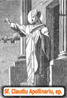 Sfântul Claudiu Apolinarul, sau Apolinarul din Hierapole sau Apolinarul Apologetul a fost un lider creştin şi un scriitor din secolul al II-lea - foto: parohiaisusbunulpastor.ro