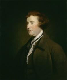 """Edmunde Burke (12 ianuarie 1729, Dublin, Irlanda — 9 iulie 1797, Beaconsfield, Anglia) — reprezentant de seamă al conservatorismului. A scris: """"Reflecții pe marginea revoluției din Franța"""" - respectarea tradiției: monarhie, biserică, aristocrație - in imagine: Edmund Burke in 1771 - foto: ro.wikipedia.org"""