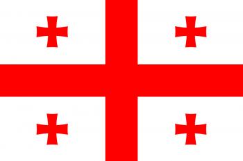 Drapelul Georgiei - foto: ro.wikipedia.org