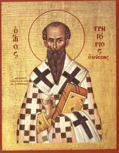 """Sfântul Grigorie al Nissei (335-384) n-a fost nici un mare administrator al Bisericii și un legislator al vieții monastice ca fratele său, Sfântul Vasile cel Mare († 1 ianuarie), nici un predicator prestigios și un poet ca Sfântul Grigorie de Nazianz († 25 ianuarie). El a luat-o totuși înaintea tuturor Părinților și scriitorilor bisericești din secolul al IV-lea ca cel mai erudit teolog speculativ al timpului, ca mistic și chiar """"Părinte al misticii"""". Prăznuirea sa în Biserica Ortodoxă se face la 10 ianuarie - foto: ro.orthodoxwiki.org"""