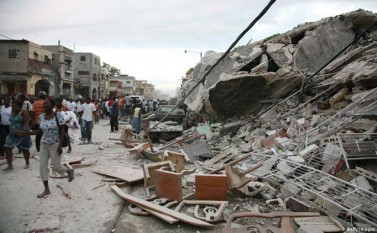 12 ianuarie 2010: In Haiti se produce un cutremur devastator -  foto: cersipamantromanesc.wordpress.com