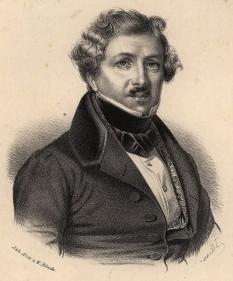 Louis Jacques Mandé Daguerre (n. 18 noiembrie 1787 la Cormeilles-en-Parisis, Val-d'Oise, d. 10 iulie 1851 la Bry-sur-Marne, Val-de-Marne, Franța) este considerat părintele fotografiei prin invenția sa numită daghereotipie - foto: ro.wikipedia.org