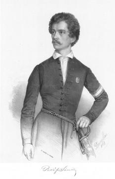 Sándor Petőfi (n. 1 ianuarie 1823, Kiskőrös, comitatul Pest-Pilis-Solt-Kiskun - d. probabil 31 iulie 1849, Albești, comitatul Târnava Mare), poet romantic maghiar, erou al Revoluției de la 1848 din Ungaria și Transilvania - foto: ro.wikipedia.org