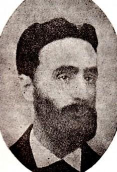 """Samson L. Bodnărescu (n. 27 iunie 1840, satul Voitinel, județul Suceava - d. 3 martie 1902, Pomârla, județul Botoșani) a fost un scriitor și poet român, membru al societății culturale """"Junimea"""" - foto: ro.wikipedia.org"""