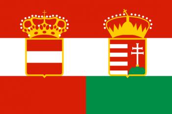 Steagul Austro-Ungariei, 1869-1918 - foto: cersipamantromanesc.wordpress.com