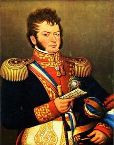 Bernardo O'Higgins Riquelme (n. 20 august 1778 – 24 octombrie 1842) a fost un lider al luptei chiliene pentru independență care, împrenuă cu José de San Martín, a eliberat Chile de dominația colonială spaniolă. Deși a fost al doilea Director Suprem al statului Chile (1817–1823), el este considerat a fi unul dintre părinții fondatori ai acestui stat, întrucât a fost primul care a deținut acest titlu când statul a fost complet independent. O'Higgins era de origine irlandeză și bască - foto: ro.wikipedia.org