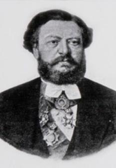 Dimitrie Ghica (n. 31 mai 1816 - d. 15 februarie 1897, București) a fost prim-ministru al României din partea Partidului Conservator între 1868 și 1870. Născut în Familia Ghica, ca fiu al domnitorului din Țara Românească Grigore Dimitrie Ghica - foto: ro.wikipedia.org