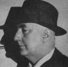 Edgar Wallace (n. 1 aprilie 1875, Greenwich, Londra - d. 10 februarie 1932, Hollywood, California) a fost un scriitor englez de thriller (romane criminalistice), regizor și jurnalist - foto: cersipamantromanesc.wordpress.com