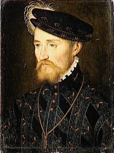 François de Lorena, Prinț de Joinville, Duce de Guise, Duce de Aumale (17 februarie 1519 – 24 februarie 1563), a fost militar și om de stat francez - in imagine, François, Duce de Guise, de François Clouet - foto: ro.wikipedia.org
