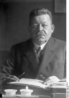 Friedrich Ebert (n. 4 februarie 1871 – d. 28 februarie 1925) a fost un om politic german, care a îndeplinit funcția de președinte al Germaniei în perioada 1919-1925 - foto: ro.wikipedia.org