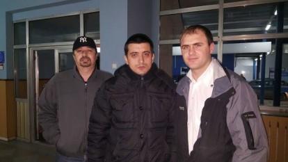 5 februarie 2016: Liderul unioniștilor, George Simion, intră în greva foamei în vama Sculeni pentru a protesta contra măsurii autorităților de la Chișinău de a-i impune interdicție de intrare pe teritoriul Republicii Moldova - foto: infoprut.ro