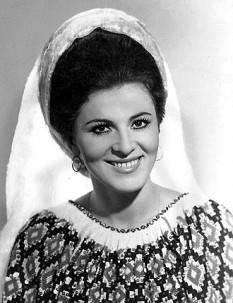 Irina Loghin (supranumită regina muzicii populare, n. 19 februarie 1939, Gura Vitioarei, județul interbelic Prahova) este o renumită interpretă de folclor românesc. A fost, pe rând, solistă a ansamblului Ciocârlia, Barbu Lăutaru și Ciprian Porumbescu. Cu o bogată activitate concertistică și cu un număr mare de evidențieri discografice, Irina Loghin a cântat o lungă perioadă de timp și în străinătate. În octombrie 1998 s-a înscris în Partidul România Mare (PRM). În legislatura 2000-2004 a fost deputat iar în legislatura 2004-2008 a fost senator român, ales în județul Giurgiu, pe listele partidului PRM, calitate în care a încercat să ajute artiștii români și bătrânii, dar nu a mai dorit să candideze pentru un al doilea mandat de senator din cauza eșecurilor în acest plan. Irina Loghin este căsătorită cu fostul campion la lupte greco-romane Ion Cernea și este mamă a doi copii, Ciprian și Irinuca - foto: ro.wikipedia.org