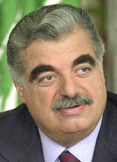 Rafic Baha El Deen Al Hariri (November 1944 – 14 February 2005) was a Lebanese-Saudi business tycoon and the Prime Minister of Lebanon from 1992 to 1998 and again from 2000 until his resignation on 20 October 2004. He headed five cabinets during his tenure. Hariri dominated the country's post-war political and business life and is widely credited with reconstructing Beirut after the 15-year civil war - foto: cersipamantromanesc.wordpress.com