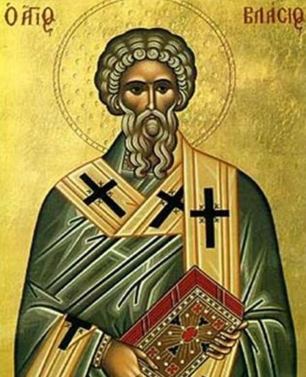 Sfântul Ierarh Vlasie, Episcopul Sevastiei. Prăznuirea sa de către Biserica Ortodoxă se face la data de 11 februarie - foto: doxologia.ro