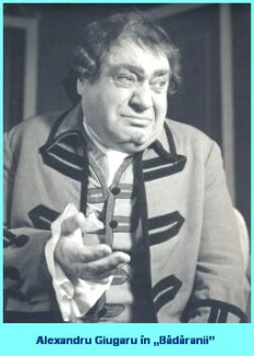 """Alexandru Giugaru (n. 23 iunie 1897, Huși; d. 15 martie 1986) a fost un actor român de comedie. Prin Decretul nr. 43 din 23 ianuarie 1953 al Prezidiului Marii Adunări Naționale a Republicii Populare Romîne, actorului Alexandru Giugaru i s-a acordat titlul de Artist Emerit al Republicii Populare Romîne """"pentru merite deosebite, pentru realizări valoroase în artă și pentru activitate merituoasă"""". Ulterior (după anul 1960, dar înainte de 1966) a primit și titlul de Artist al Poporului. Pentru activitatea sa, în anul 1964 a obținut Premiul de Stat. A fost distins cu Ordinul Muncii clasa II (1952) """"pentru munca depusă cu ocazia «Centenarului Caragiale»"""" și cu Ordinul Meritul Cultural clasa I (1967) """"pentru activitate îndelungată în teatru și merite deosebite în domeniul artei dramatice"""". Astăzi, Casa de cultură din municipiul Huși îi poartă numele - foto: cersipamantromanesc.wordpress.com"""