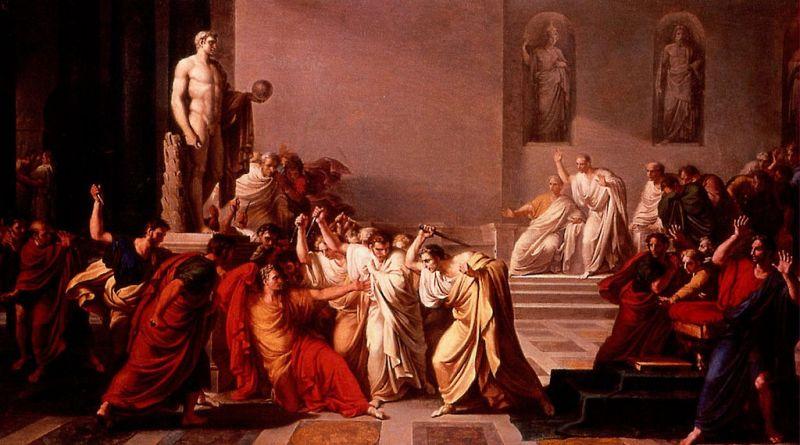 Asasinarea împăratului roman Iuliu Cezar - foto: ro.wikipedia.org