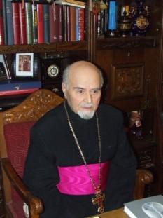 Dumitru Popescu (n. 29 iunie 1929, Călugăreni, Giurgiu d. 10 martie 2010, București) a fost un preot, teolog român, profesor universitar, membru de onoare al Academiei Române (din 2001) - foto: cersipamantromanesc.wordpress.com