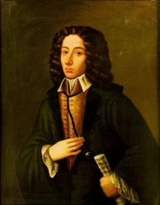 Giovanni Battista Pergolesi (n. 4 ianuarie 1710, Jesi/Ancona - d. 17 martie 1736, Pozzuoli/Napoli), compozitor italian din secolul al XVIII-lea, descendent al unei familii din Pergola, un orășel din provincia Marche, de la care și-a luat și numele - foto: ro.wikipedia.org