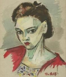 Tia (Ernestina) Peltz, autoportret - foto: ro.wikipedia.org