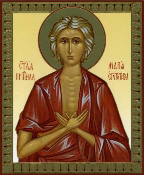 Sfânta Cuvioasă Maria Egipteanca (344-422) - foto preluat de pe doxologia.ro